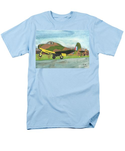 Men's T-Shirt  (Regular Fit) featuring the painting Firstflight by John Williams