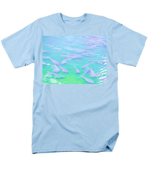 Men's T-Shirt  (Regular Fit) featuring the photograph Fish by Rachel Mirror