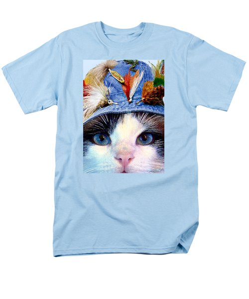 Fisher Cat Men's T-Shirt  (Regular Fit) by Michele Avanti