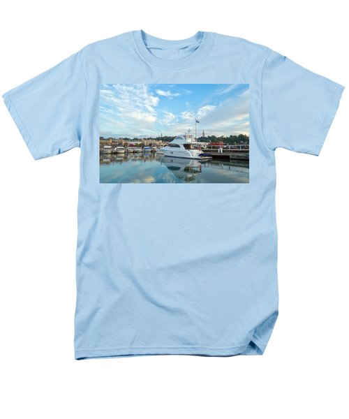 Flag View II Men's T-Shirt  (Regular Fit) by James  Meyer