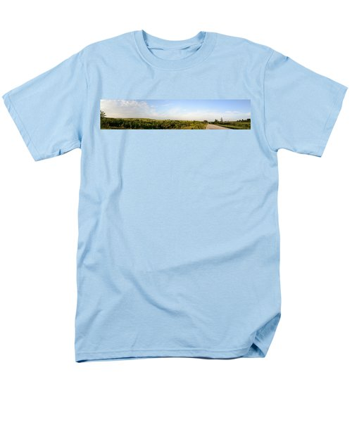 Men's T-Shirt  (Regular Fit) featuring the photograph Flint Hills 2 by Brian Duram