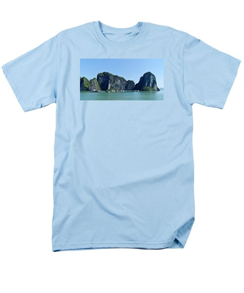 Floating Village Ha Long Bay Men's T-Shirt  (Regular Fit) by Scott Carruthers