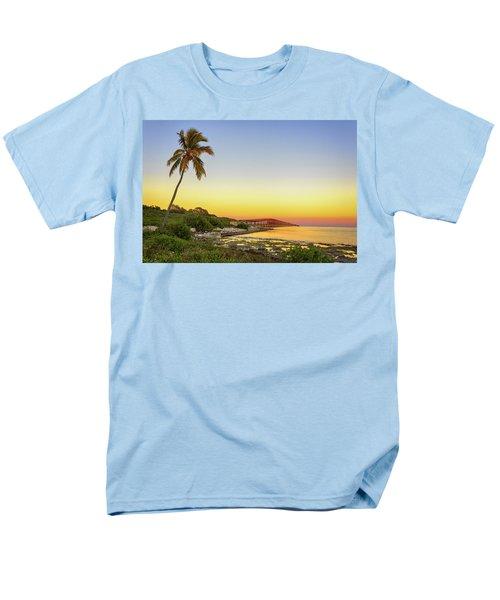Florida Keys Sunset Men's T-Shirt  (Regular Fit) by Swank Photography