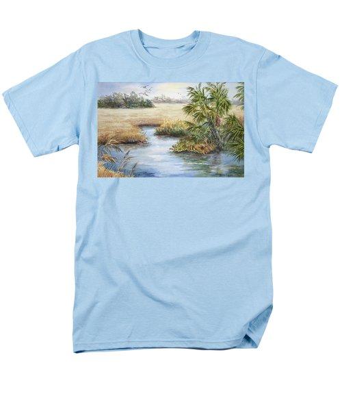 Florida Wilderness IIi Men's T-Shirt  (Regular Fit) by Roxanne Tobaison