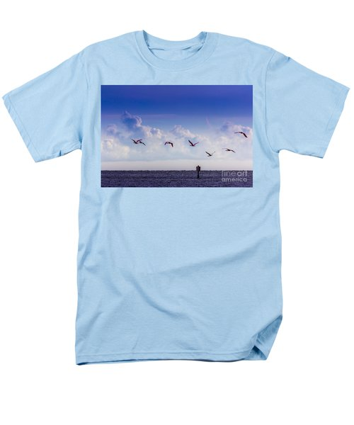 Flying Free Men's T-Shirt  (Regular Fit) by Marvin Spates