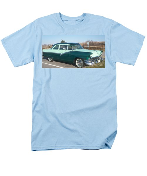 Ford Mercury Men's T-Shirt  (Regular Fit) by Eric  Schiabor