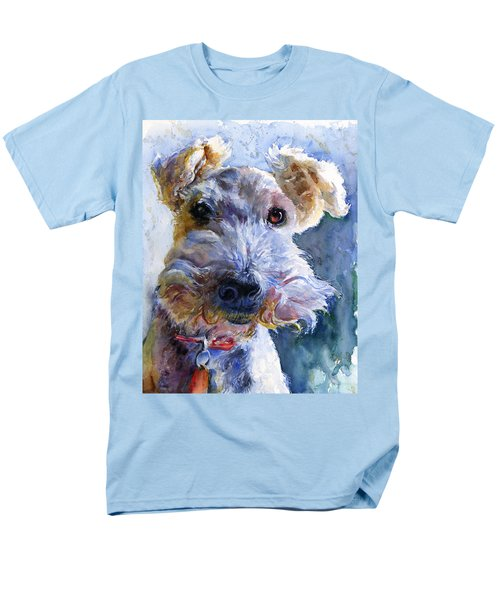 Fox Terrier Full Men's T-Shirt  (Regular Fit) by John D Benson