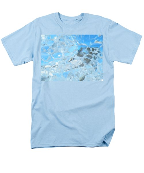 Men's T-Shirt  (Regular Fit) featuring the photograph Fracked  by Brian Boyle