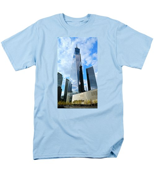 Freedom Tower Men's T-Shirt  (Regular Fit) by Stephen Stookey