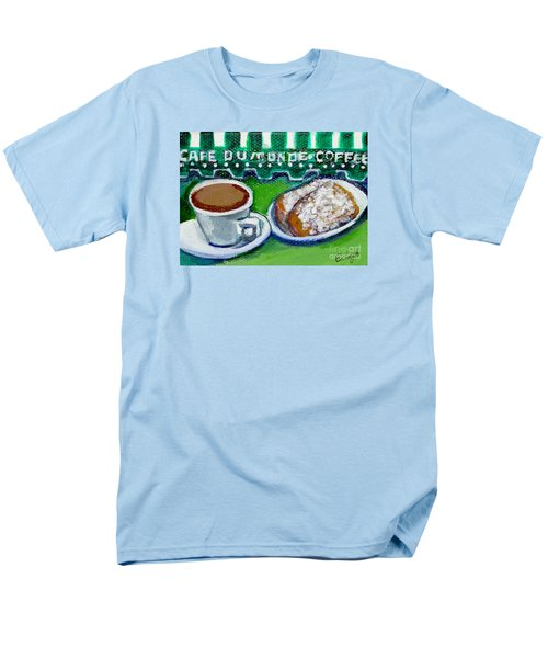 Men's T-Shirt  (Regular Fit) featuring the painting French Quarter Delight by Ecinja