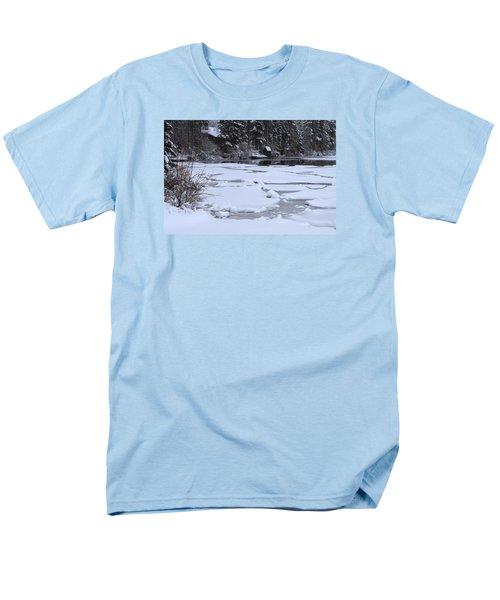 Frozen Silence  Men's T-Shirt  (Regular Fit) by Duncan Selby