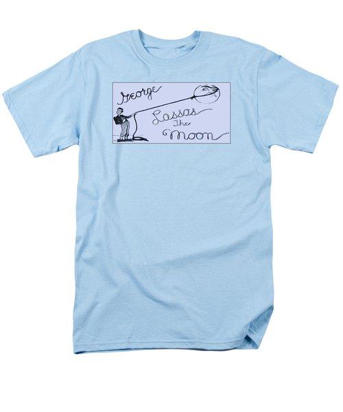 George Lassos The Moon Men's T-Shirt  (Regular Fit) by Dan Sproul
