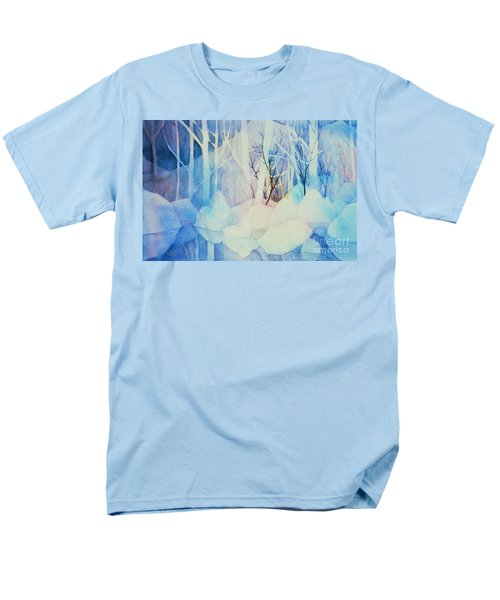 Men's T-Shirt  (Regular Fit) featuring the painting Ghost Forest by Teresa Ascone