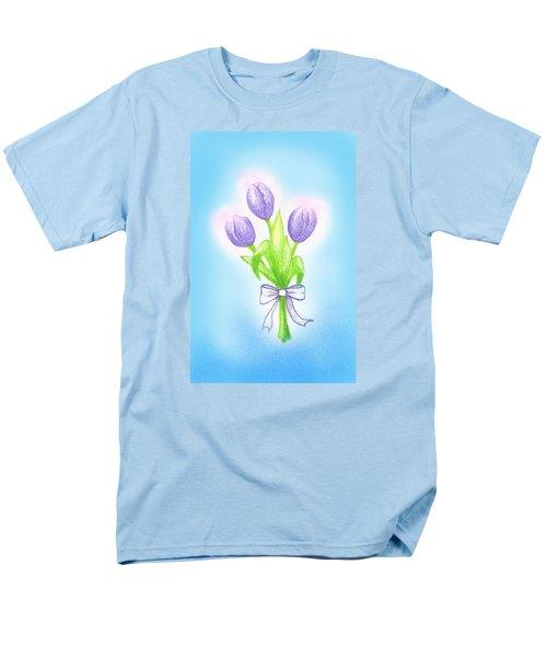 Men's T-Shirt  (Regular Fit) featuring the drawing Gift by Keiko Katsuta