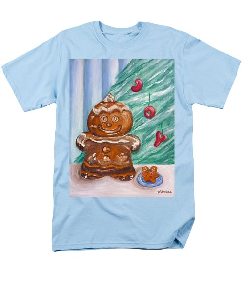 Gingerbread Cookies Men's T-Shirt  (Regular Fit) by Victoria Lakes