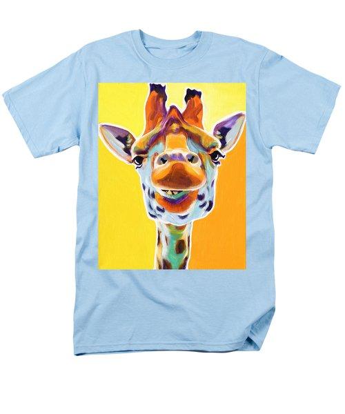 Giraffe - Sunflower Men's T-Shirt  (Regular Fit)