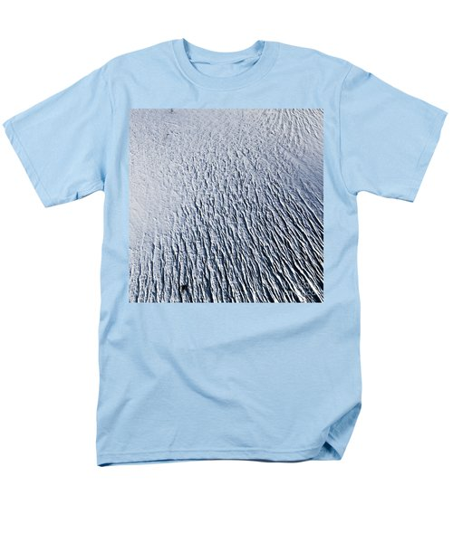 Men's T-Shirt  (Regular Fit) featuring the photograph Glacier by Gunnar Orn Arnason