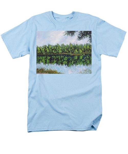 Glenoak Lake Men's T-Shirt  (Regular Fit) by Jason Williamson