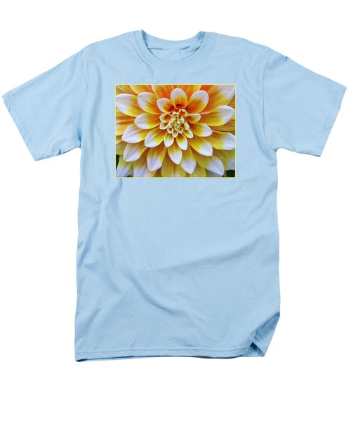 Glowing Dahlia Men's T-Shirt  (Regular Fit)