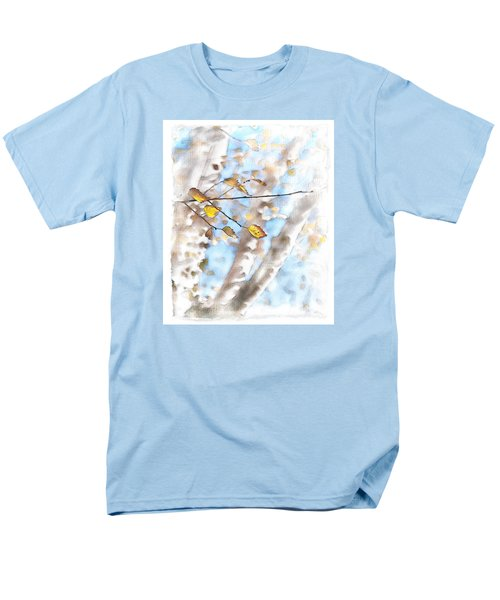 Golden Birch Men's T-Shirt  (Regular Fit) by Caitlyn  Grasso
