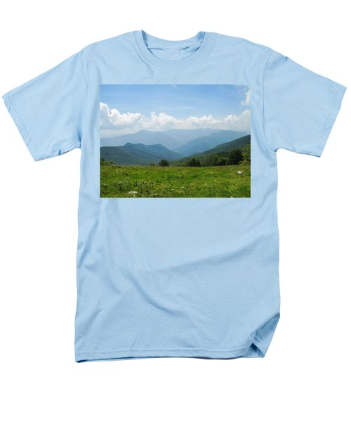 Great Smoky Mountains Men's T-Shirt  (Regular Fit) by Melinda Fawver