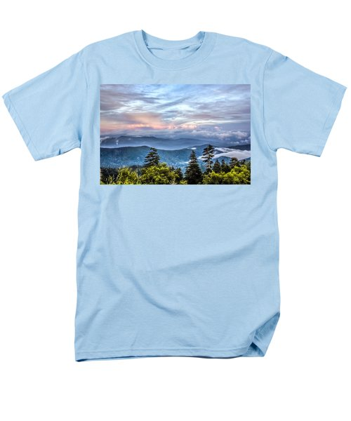 Great Smoky Mountains Men's T-Shirt  (Regular Fit) by Rob Sellers