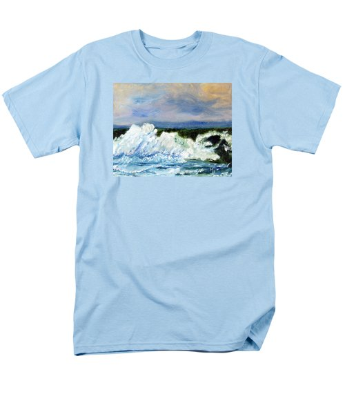 Men's T-Shirt  (Regular Fit) featuring the painting Green-eyed Monster by Michael Helfen