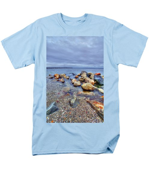 Men's T-Shirt  (Regular Fit) featuring the photograph Greenwich Bay by Alex Grichenko