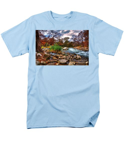 Guadalupe In The Fall Men's T-Shirt  (Regular Fit) by Savannah Gibbs
