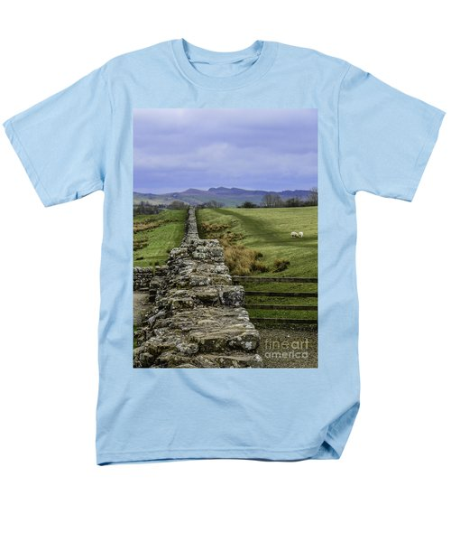 Hadrian's Wall Men's T-Shirt  (Regular Fit) by Mary Carol Story