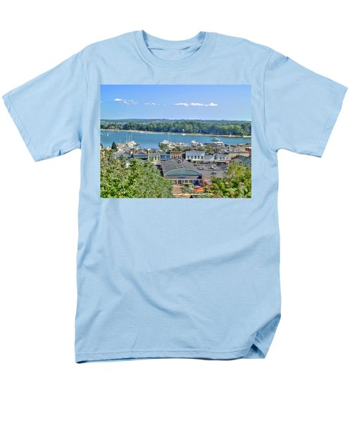 Harbor Springs Michigan Men's T-Shirt  (Regular Fit) by Bill Gallagher