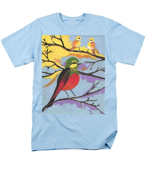 Men's T-Shirt  (Regular Fit) featuring the painting He Aint That Tweet by Kathleen Sartoris