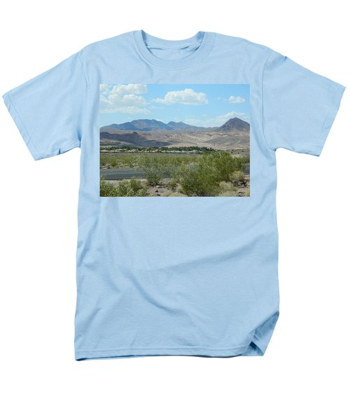 Men's T-Shirt  (Regular Fit) featuring the photograph Henderson Nevada Desert by Emmy Marie Vickers