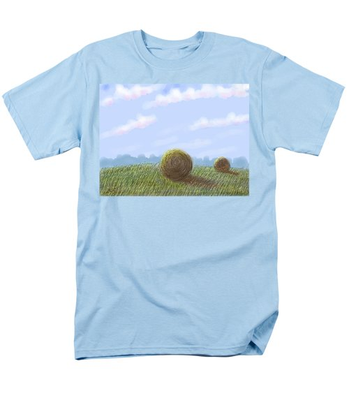 Hey I See Hay Men's T-Shirt  (Regular Fit) by Stacy C Bottoms