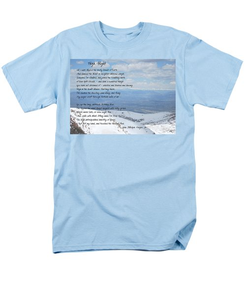 High Flight Men's T-Shirt  (Regular Fit) by Paulette B Wright