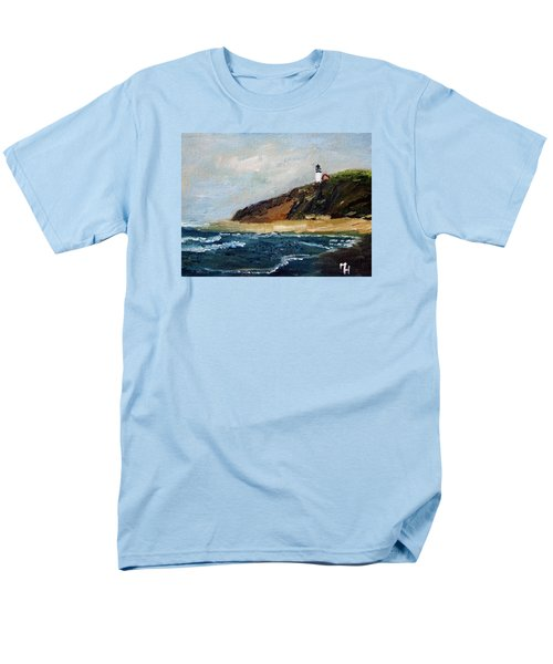 Highland Light Men's T-Shirt  (Regular Fit) by Michael Helfen