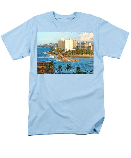 Hilton Conrad Men's T-Shirt  (Regular Fit) by Daniel Sheldon