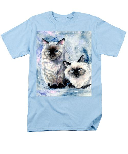 Men's T-Shirt  (Regular Fit) featuring the painting Himalayan Duo by Sherry Shipley