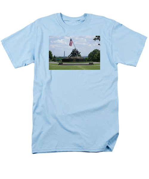 Iwo Jima Men's T-Shirt  (Regular Fit) by Heidi Poulin