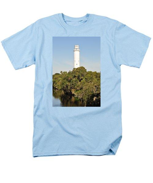 Historic Water Tower - Sulphur Springs Florida Men's T-Shirt  (Regular Fit) by John Black