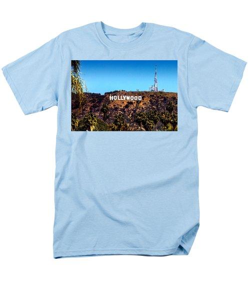 Hollywood Sign Men's T-Shirt  (Regular Fit) by Az Jackson