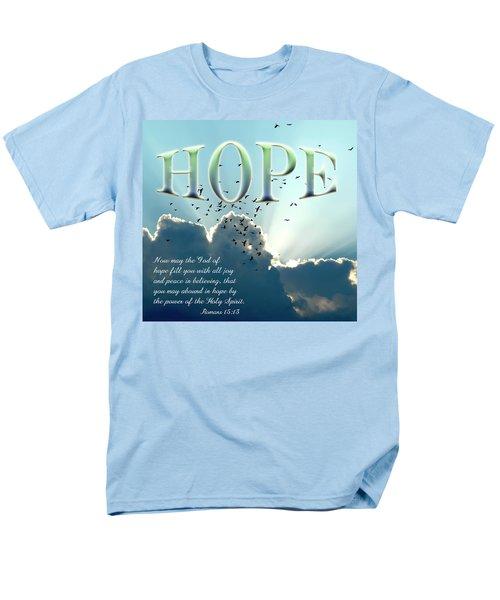 Hope Men's T-Shirt  (Regular Fit) by Carolyn Marshall