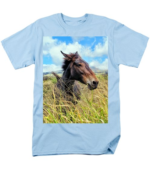 Men's T-Shirt  (Regular Fit) featuring the photograph Horse 6 by Dawn Eshelman