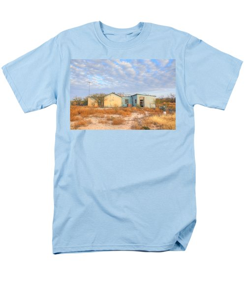 Men's T-Shirt  (Regular Fit) featuring the photograph House In Ft. Stockton Iv by Lanita Williams