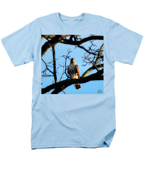 Men's T-Shirt  (Regular Fit) featuring the photograph Hungry by Ally  White