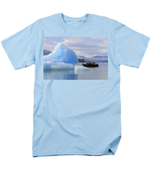 Iceberg Ahead Men's T-Shirt  (Regular Fit) by Shoal Hollingsworth