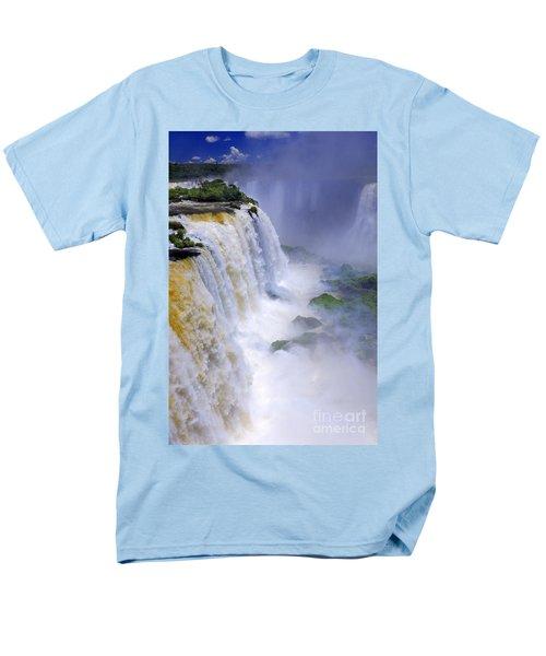 Iguazu Falls IIi Men's T-Shirt  (Regular Fit) by Bernardo Galmarini