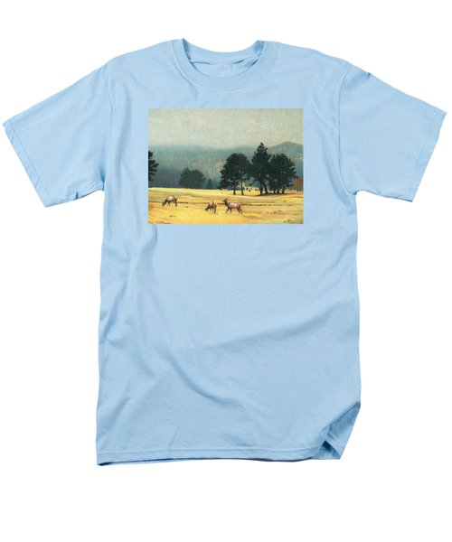 Impression Evergreen Colorado Men's T-Shirt  (Regular Fit) by Dan Miller