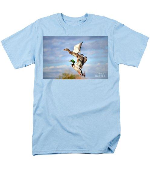 In-flight Men's T-Shirt  (Regular Fit) by Deb Halloran