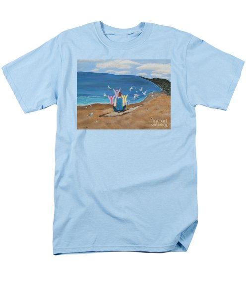 Men's T-Shirt  (Regular Fit) featuring the painting In Meditation by Cheryl Bailey